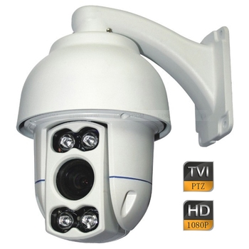 4 inç 2MP 1080 P CCTV HD-TVI Yüksek Speed Dome PTZ Kamera 5-50mm Lens Duvara Montaj